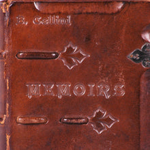Load image into Gallery viewer, Leather Bound Book, Memoirs of Benvenuto Cellini, c.1925