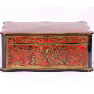Boulle veneered box signed Tahan, FRANCE, C.1840