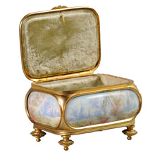 Load image into Gallery viewer, Sèvres Porcelain and Ormolu box, France, c.1860