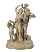 Load image into Gallery viewer, Antique Terre Cotta Group Signed Clodion, France, 19th Century