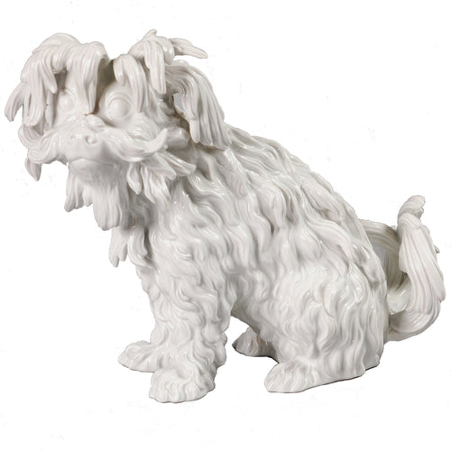 Blanc de Chine Meissen Dog