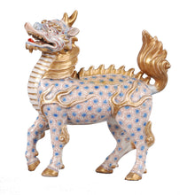 Load image into Gallery viewer, Arita Imari Kirin Qilin porcelain unicorn