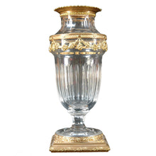 Load image into Gallery viewer, Antique Daum Nancy Crystal Vase, Signed, France, c.1900