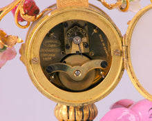 Load image into Gallery viewer, Pink Porcelain Elephant Clock, China, c.1925