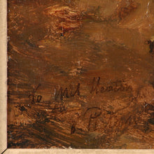 Load image into Gallery viewer, Oil painting on wooden panel, signed Evert Pieters, Dutch, c.1880