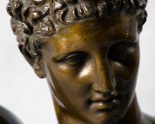 Load image into Gallery viewer, Bronze Bust of Hermes