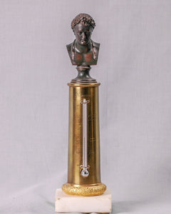 Column Thermometer with bust of Napoleon, France, c.1815