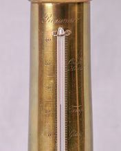 Load image into Gallery viewer, Column Thermometer with bust of Napoleon, France, c.1815