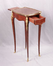 Load image into Gallery viewer, Louis XV style ormolu mounted small table, France, c.1880
