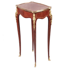 Load image into Gallery viewer, Antique Louis XV style ormolu mounted small table, France