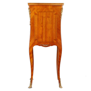 Louis XV style fall front desk/pedestal, France, 20th century