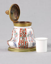 Load image into Gallery viewer, Sèvres Ormolu Mounted Inkwell
