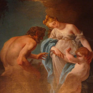 Pair of Large Oil Paintings – 18th Century Italian