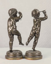 Load image into Gallery viewer, Pair of Bronze Putti Signed Clodion, France, c.1875