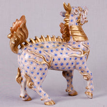 Load image into Gallery viewer, Rare Japanese Imari or Arita model of Kirin (or Qilin). Japan, c. 1775