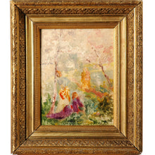 Load image into Gallery viewer, Oil on Board by Roussel, France, 19th Century
