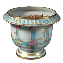 Load image into Gallery viewer, Sèvres porcelain large jardinière, France, c.1880
