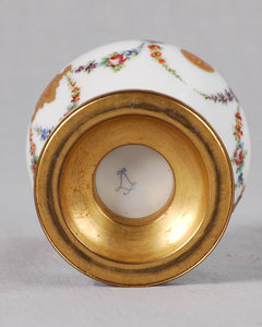 Sèvres porcelain and ormolu incense burner, France, c.1860