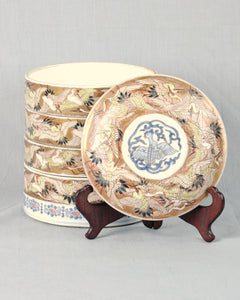 Porcelain Sweet Meat or Stacking dishes, China,Qing Dynasty, c.1860