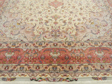 Load image into Gallery viewer, Rare and Large Tabriz Palace Size Oriental Rug-Part Silk