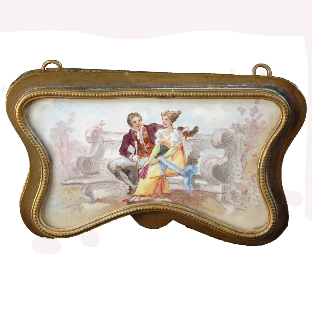 Viennese Enamel Patch Box