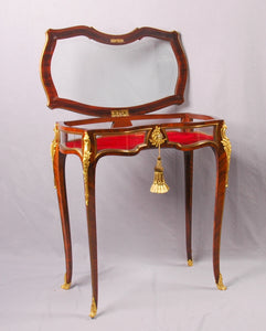 Table Vitrine, Louis XV style, France, c.1875