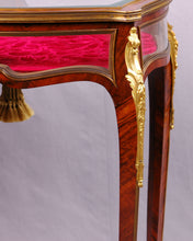 Load image into Gallery viewer, Table Vitrine, Louis XV style, France, c.1875