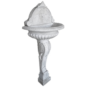 Italian Marble Wall Fountain, Italy, c.1825