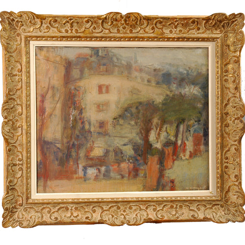 Oil Painting, Joachim Weingart, Germany c1930