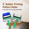 "5"" Rubber Printing Pattern Roller and Paint Roller Machine"