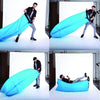 Portable Outdoor Indoor Wind Bed Lounger, Air Bed Sofa, Air Sleeping Sofa