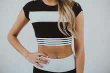 Load image into Gallery viewer, Lordie Lordie Cap Sleeve Crop Top