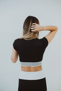 Lordie Lordie Cap Sleeve Crop Top