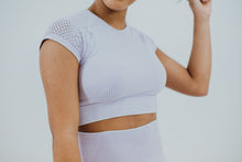 Load image into Gallery viewer, Serena Seamless Cap Sleeve Crop