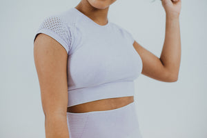 Serena Seamless Cap Sleeve Crop