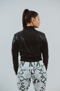 Dasha Dazzle Bomber Jacket
