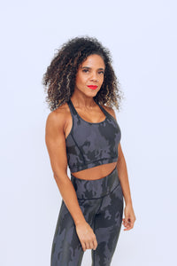 Influential Camo Sports Bra