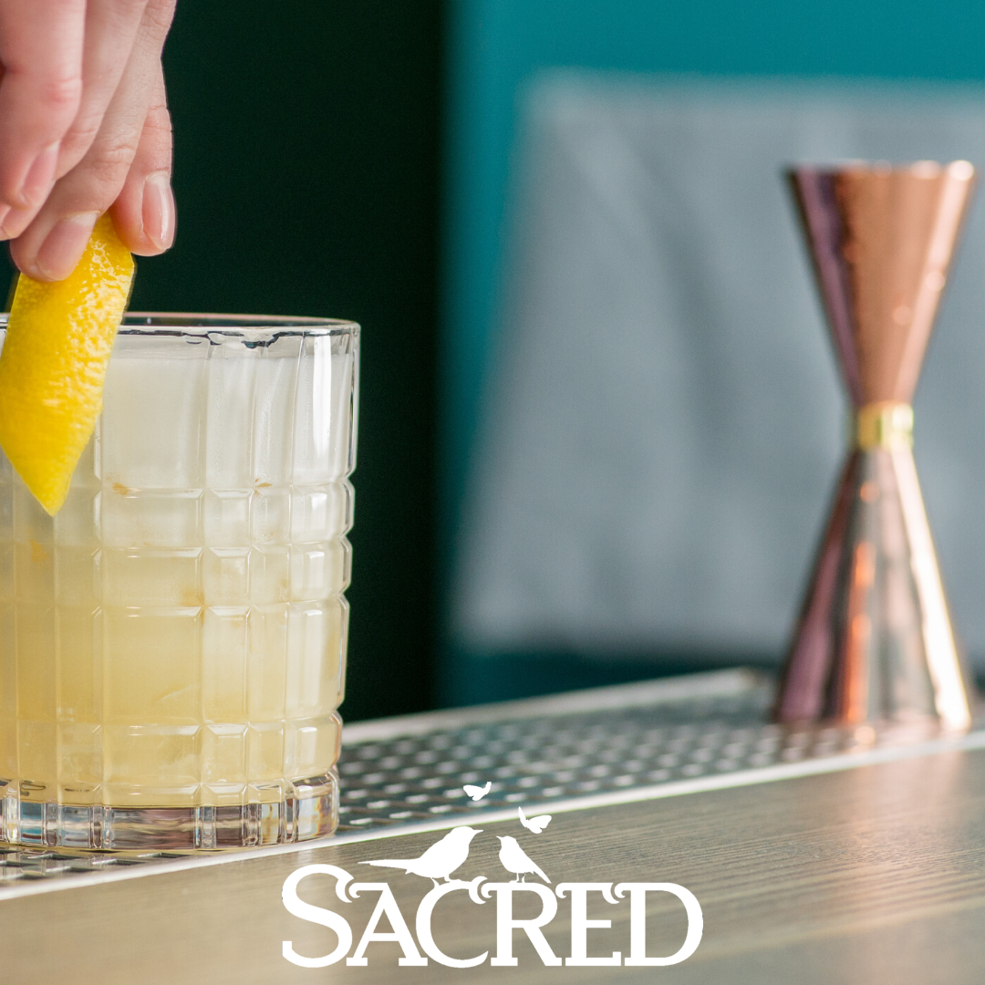 Cocktail Recipe Card: The Sacred Penicillin
