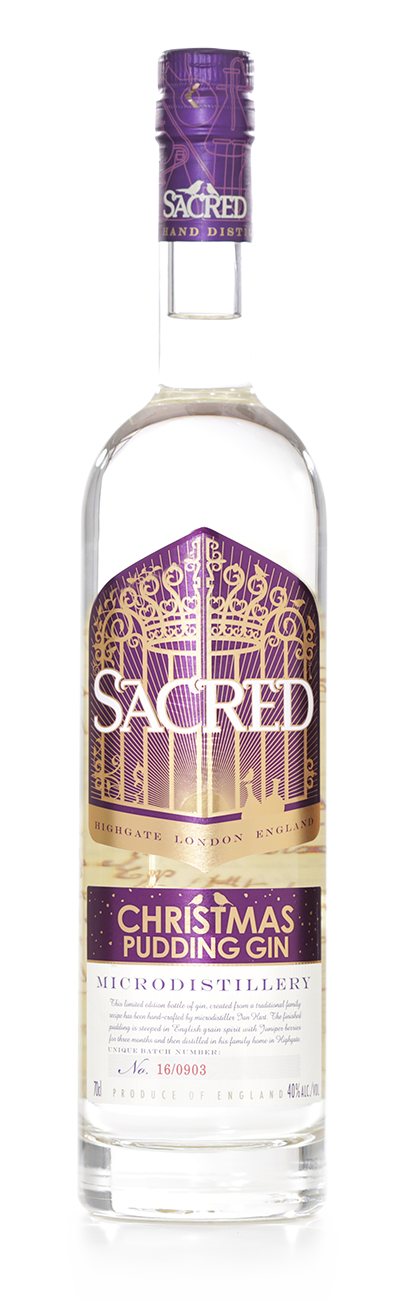 Sacred Christmas Pudding Gin