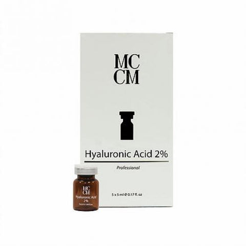 MCCM  Hyaluronic Acid 2% 5vials  x 5ml