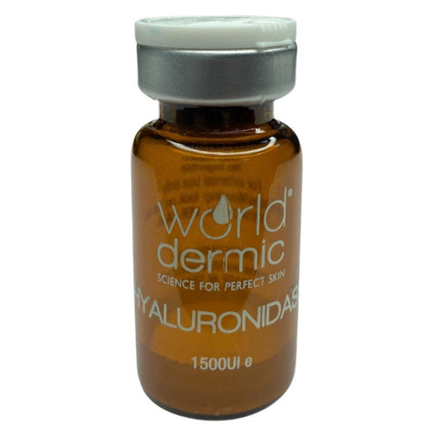 World Dermic HYALURONIDASE LYOPHILISED 1500 UI X 1 VIAL (POWDER)