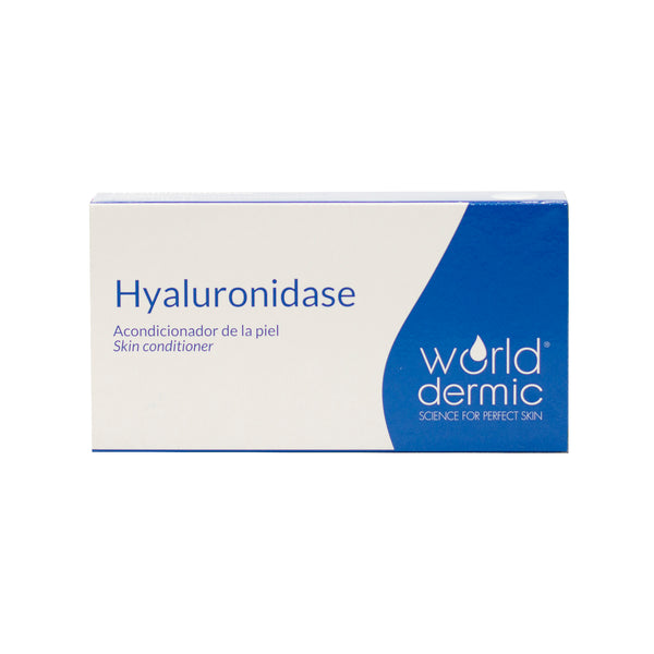 World Dermic HYALURONIDASE LYOPHILISED 1500 UI X 5 VIALS