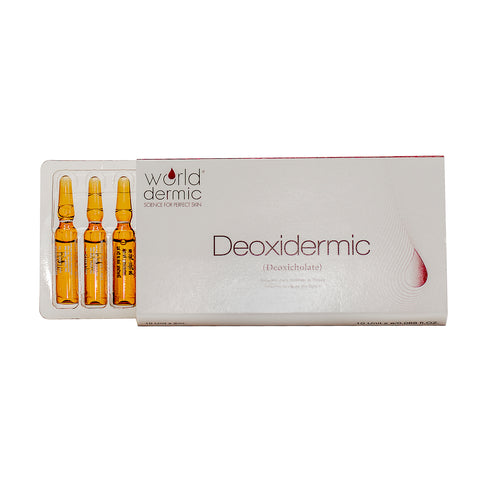 World Dermic DEOXIDERMIC  2ml X 10AMP
