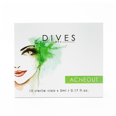DIVESMED  ACNEOUT   Solution 10vials x 5ml