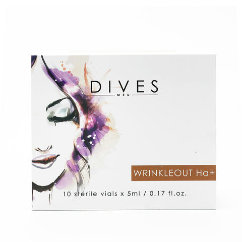 DIVESMED WRINKLEOUT Ha+  Solution  10vials x 5ml
