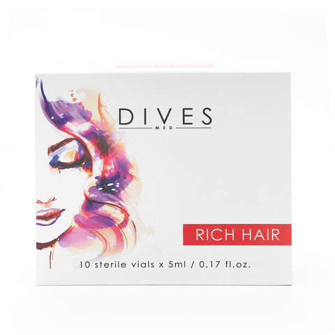 DIVESMED RICH HAIR  Solution  10 vials x 5ml