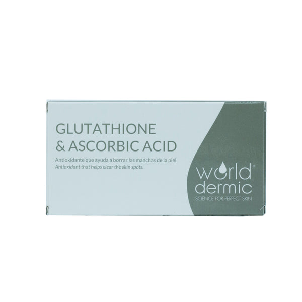 World Dermic Glutathione & Ascorbic Acid Lyophilised Powder 200mg x 5VIAL