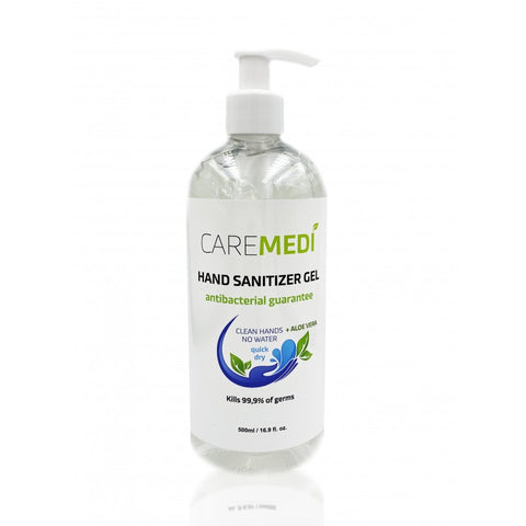 CAREMEDI Hand Sanitizer Gel 500 ml
