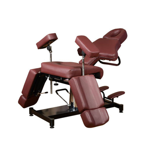 Fully Adjustable Hydraulic Tattoo Chair