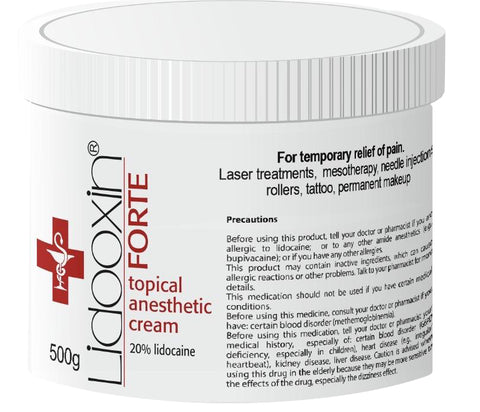 Pre Treatment Cream FORTE 500g
